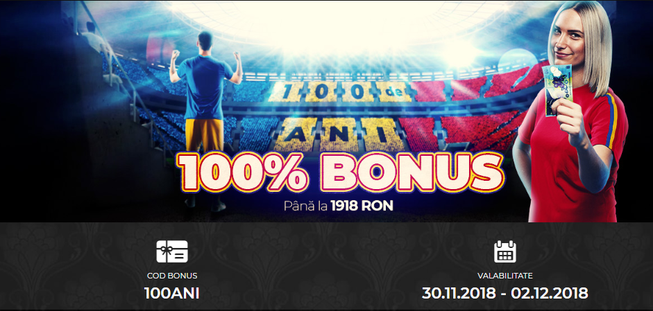 La Maxbet ai 100% Bonus pana la 1918 RON cu ocazia Marii Uniri