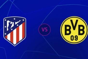 Ponturi pariuri Atletico Madrid vs Borussia Dortmund – 6 noiembrie 2018 Champions League