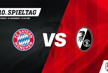 Ponturi pariuri Bayern Munchen vs Freiburg – 3 noiembrie 2018 Bundesliga