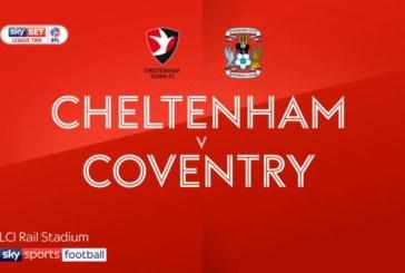 Ponturi pariuri Cheltenham vs Coventry EFL Trophy Anglia 13 noiembrie 2018