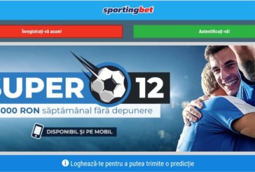 Castiga 3000 RON cu Football Predictor la Sportingbet