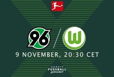 Ponturi pariuri Hannover vs Wolfsburg – 9 noiembrie 2018 Bundesliga