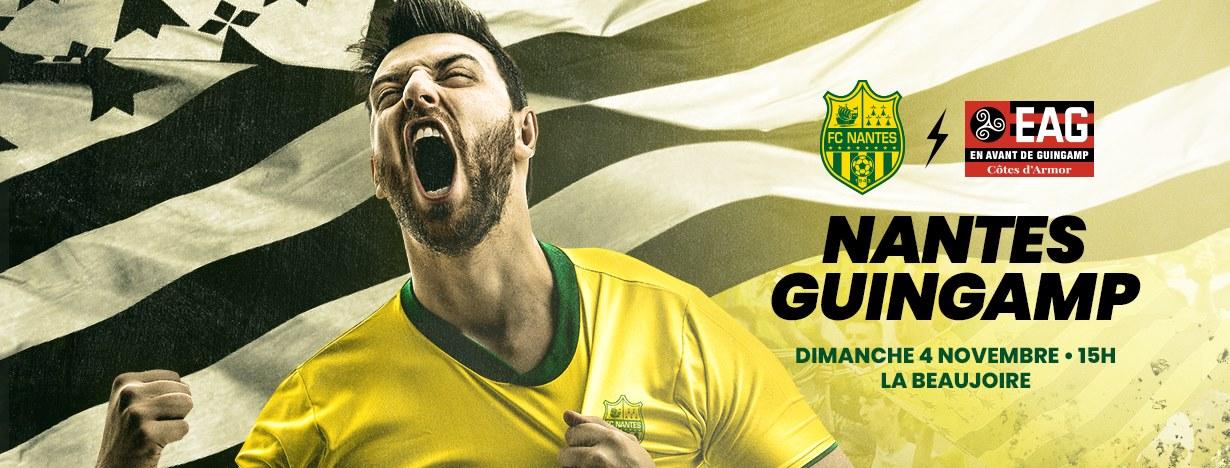Ponturi pariuri Nantes vs Guingamp - 4 noiembrie 2018 Ligue 1