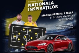 Intra in Nationala Inspiratilor si castiga o masina Tesla