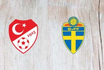 Ponturi pariuri Turcia vs Suedia Liga Natiunilor 17 noiembrie 2018