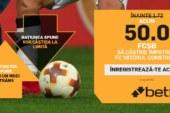 Cota zilei din fotbal – Duminica 09 Decembrie – Cota 2.00 – Castig potential 200 RON