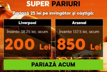 Cota zilei din fotbal – Sambata 29 Decembrie – Cota 2.40 – Castig potential 240 RON