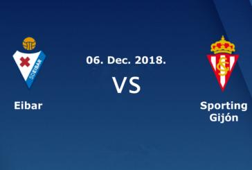 Ponturi pariuri Eibar vs Gijon – Spania Cupa Regelui – 6 decembrie 2018