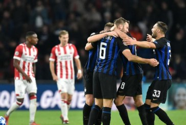Ponturi pariuri Inter vs PSV Eindhoven– UEFA Champions League – 11 decembrie 2018