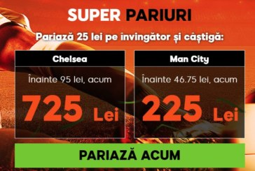 Cota zilei din fotbal – Sambata 08 Decembrie – Cota 2.12 – Castig potential 212 RON