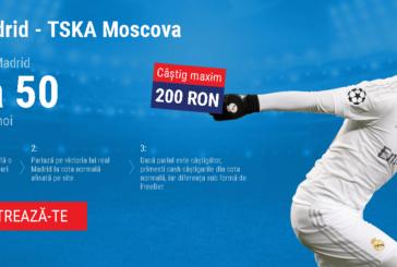 Cota zilei din fotbal – Miercuri 12 Decembrie – Cota 2.00 – Castig potential 200 RON