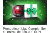 Calendarul Unibet! Oferta de azi: Pronosticuri Liga Campionilor cu premii de 250.000 RON