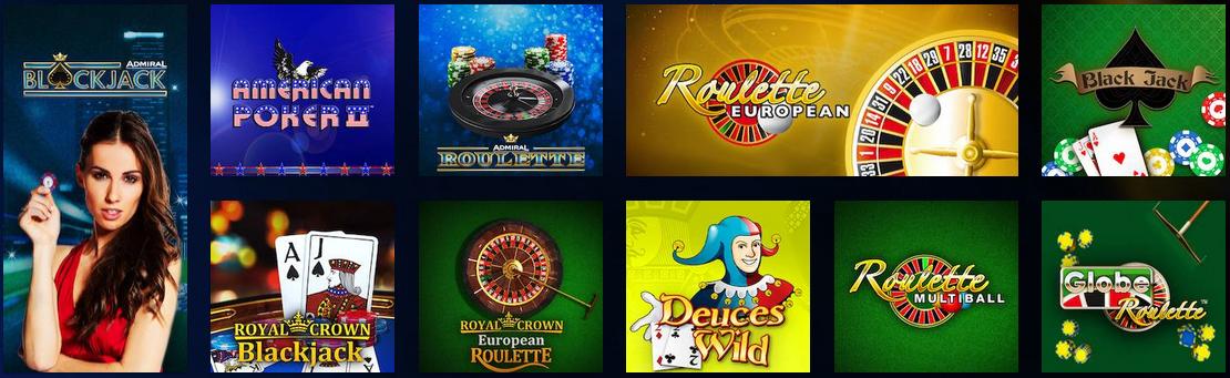 cazinoul online Admiral
