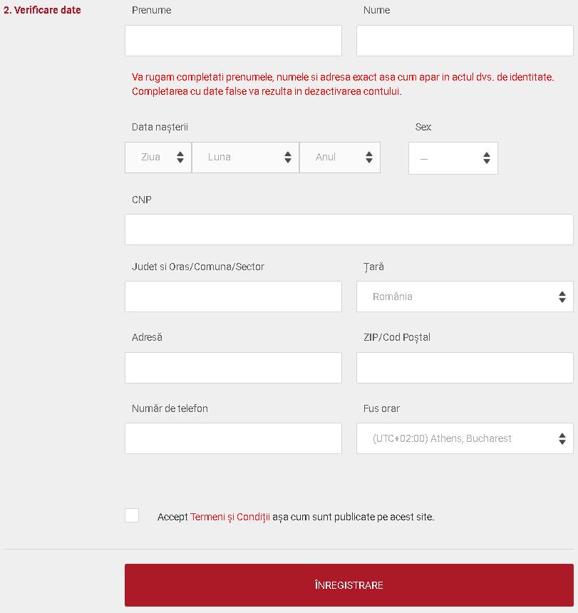 verificare date casa pariurilor