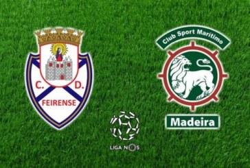 Ponturi pariuri Feirense vs Maritimo Madeira Primeira Liga Portugalia 10 decembrie 2018
