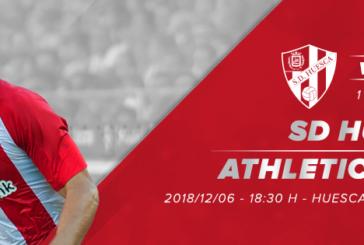 Ponturi pariuri Huesca vs Athletic Bilbao – Cupa Spaniei 6 decembrie 2018