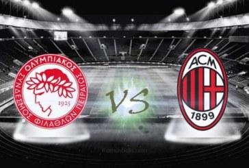 Ponturi pariuri Olympiakos vs Milan Europa League 13 decembrie 2018