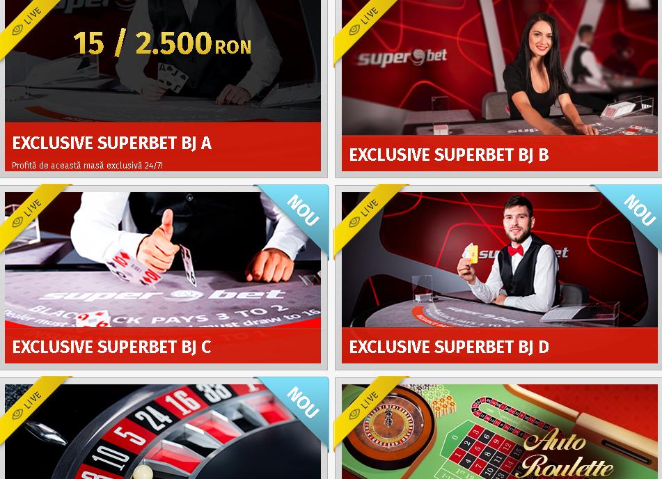 cazino live Superbet