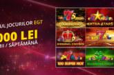Joaca-te la sloturile din cazino Fortuna si poti castiga 2500 RON Bonus