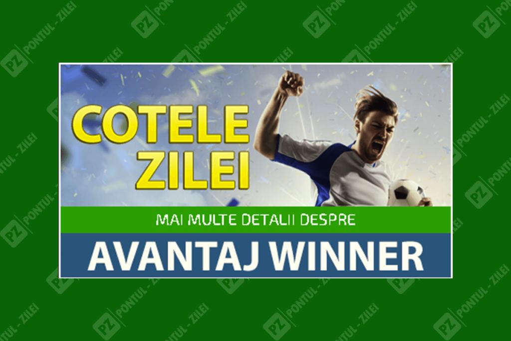 Cotele Zilei - avantaj Winner