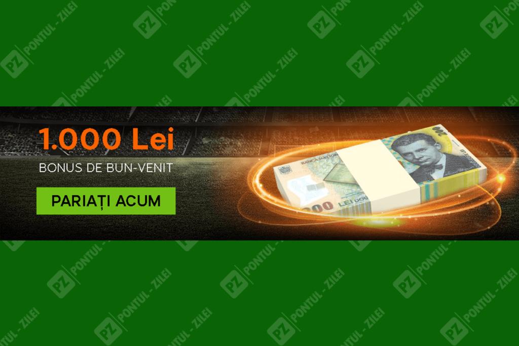 Bonus bun venit 888Sport