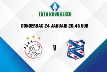 Ponturi Ajax – Heerenveen fotbal 24-ianuarie-2019 Cupa Olandei
