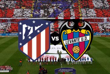 Ponturi Atletico Madrid – Levante fotbal 13-ianuarie-2019 La Liga