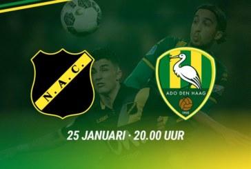 Ponturi NAC Breda – ADO Den Haag fotbal 25-ianuarie-2019 Eredivisie