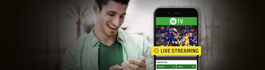 Obține câștiguri suplimentare de 25% când pariezi și vizionezi live meciuri la Unibet