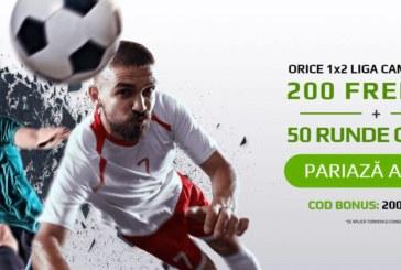 Cota zilei din fotbal – Miercuri 20 Februarie – Cota 2.04 – Castig potential 204 RON
