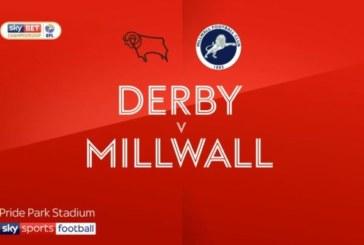Ponturi Derby vs Millwall fotbal 20 februarie 2019 Championship Anglia