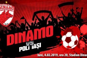 Ponturi Dinamo – Poli Iasi 4-februarie-2019 Liga 1 Betano