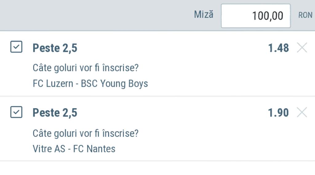 Biletul zilei din fotbal de la Alyn – Miercuri 06 Martie – Cota 2.81 – Castig potential 281 RON