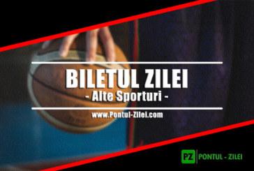 Biletul Zilei alte sporturi de la Sorel – Joi 13 Iunie – Cota 2.84 – Castig potential 284 RON
