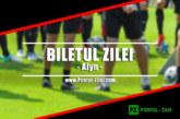 Biletul fotbal Alyn – Joi 24 Octombrie – Cota 2.30 – Castig potential 230 RON