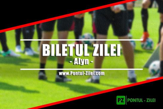 Biletul zilei din fotbal de la Alyn – Marti 25 Iunie – Cota 3.40 – Castig potential 340 RON