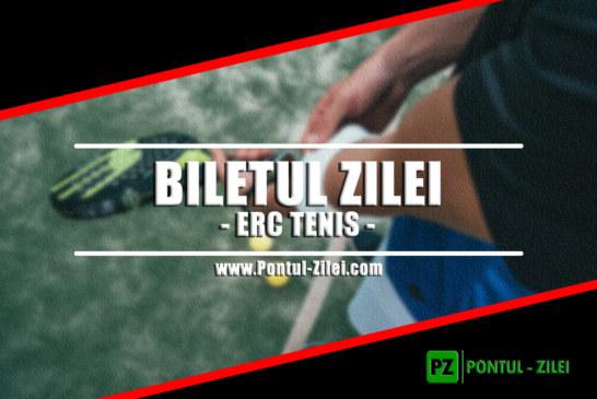 Biletul zilei din tenis de la ERC – Duminica 21 Iulie – Cota 2.24 – Castig potential 224 RON