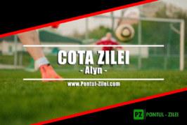 Cota zilei din fotbal de la Alyn – Duminica 21 Iulie – Cota 2.05 – Castig potential 205 RON