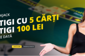 Te pricepi la BlackJack? Invinge dealerii Fortuna si ia bonusul de 100 RON!
