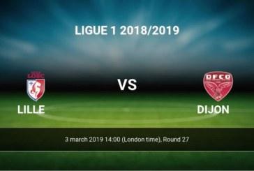 Ponturi Lille – Dijon fotbal 03-martie-2019 Ligue1