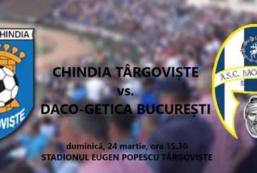 Ponturi Chindia Targoviste – Daco-Getica fotbal 24-martie-2019 Liga 2 Romania