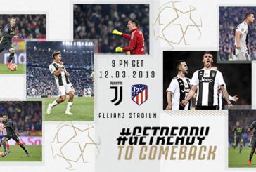 Ponturi Juventus-Atletico Madrid fotbal 12-martie-2019 retur optimi Champions League