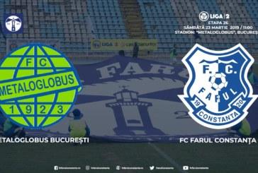 Ponturi Metaloglobus-Farul Constanta fotbal 23-martie-2019 Liga 2 Romania