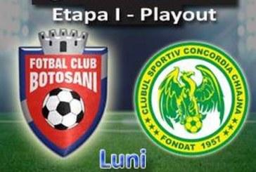 Ponturi Botosani vs Concordia Chiajna fotbal 11 martie 2019 Liga I Betano Romania
