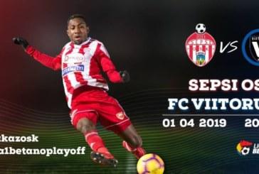 Ponturi Sepsi Sf. Gheorghe vs Viitorul fotbal 1 aprilie 2019 Liga I Betano Romania