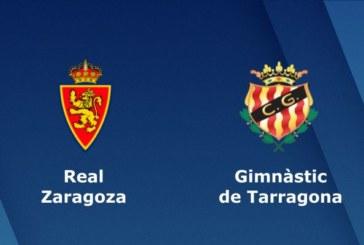 Ponturi Real Zaragoza vs Gimnastic Tarragona fotbal 1 aprilie 2019 Liga Adelante Spania
