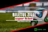 Bilet Super 6 Superbet – Sambata 13 Aprilie – Cota 482 – Castig potential 4587