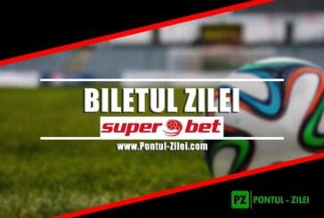 Biletul zilei fotbal – Superbet | Ai bonus 500 RON sa joci biletul zilei la Superbet