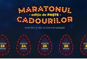 Maratonul cadourilor de Paste la Maxbet! Azi ai 125 ROTIRI BONUS!