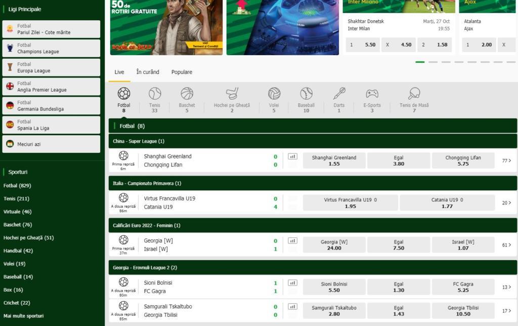 Oferta Sportiva Gets Bet